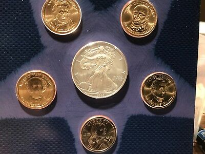2008 United States Mint Annual Uncirculated Dollar Coin Set New In Box