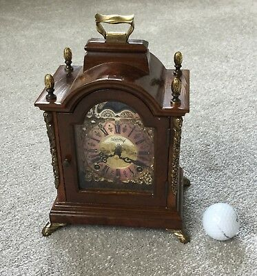 Wuba 'Warmink' Moonphase Chiming Mantel Clock - Working