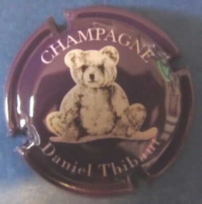 capsule champagne THIBAUT Nounours violet n°23
