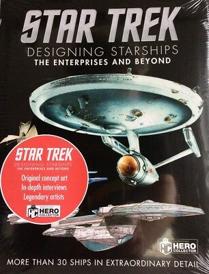 Star Trek: Designing starships Book 3 the Kelvin timeline Eaglemoss OVP