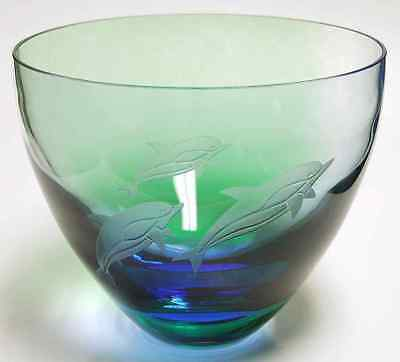 Caithness Glass SPIRIT OF THE SEA Dolphin Bowl 4037151