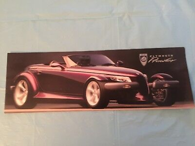 "1997 Plymouth ""Prowler"" Car Dealer Sales Brochure"