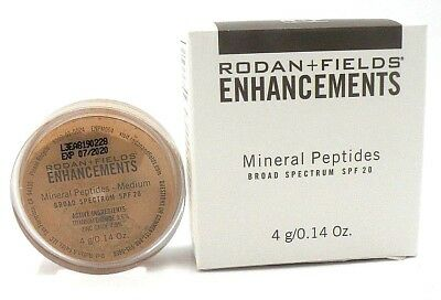 ede46fc4077 Rodan +Fields Enhancements Mineral Peptides SPF 20 0.14 oz EXP 07/2020  Medium