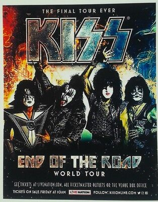 KISS☆End of the Road Tour☆ Promo Magnet
