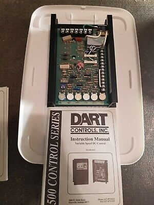 New Dart Controls, Inc 510-100Rc-W1348 Variable Dc Drive, 120Vac