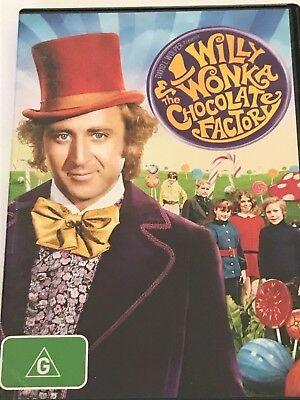 Willy Wonka and the Chocolate Factory DVD Like New