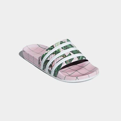 Adidas Adilette The Farm Pink Sandal Slides Women s Size  10 NEW! Ships  Free! e87940c88
