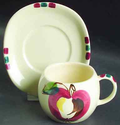 Purinton Pottery APPLE Cup & Saucer 8612981