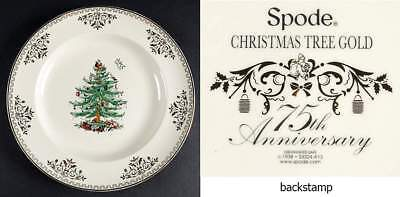 Spode CHRISTMAS TREE-GOLD COLLECTION Dinner Plate 10101822