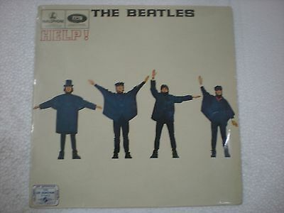 THE BEATLES HELP ! PARLOPHONE RARE LP first press mono 1965 INDIA INDIAN ex