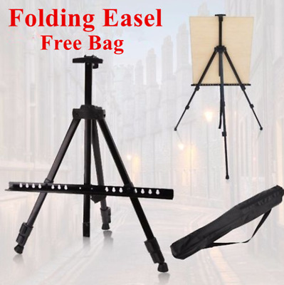 Folding Light Weight Stand Tripod Easel Display Drawing Board Art Sketch W/Bag