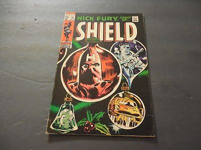 Nick Fury, Agent of SHIELD #10 March 1969 Silver Age Marvel Comics       ID:7063
