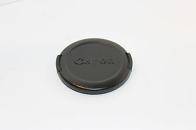 GENUINE CANON E-58mm LENS CAP for 58mm FILTER THREADS