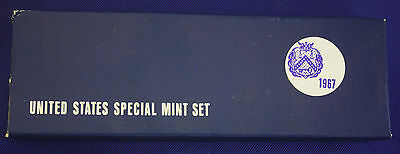 """1967 special mint set. The """"PROOF SET"""" for 1967. Original from us mint."""