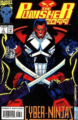 Punisher 2099 #7 1993 FN Stock Image