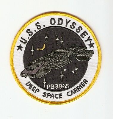 + STARGATE SG-1 Aufnäher Patch USS ODYSSEY DEEP SPACE CARRIER Cosplay