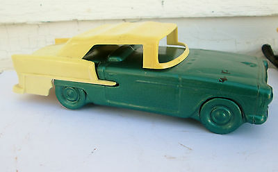 Old Vintage Avon Bottle Green 1955 Chevy