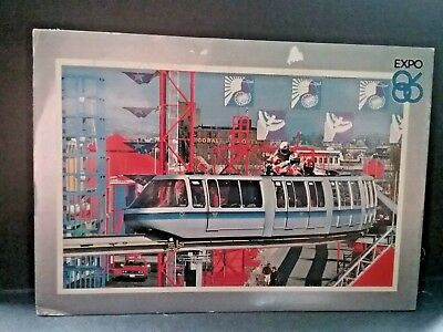 Postcard Expo 86 in Vancouver, B.C., Canada     Z3