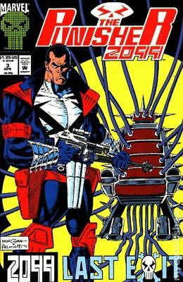 Punisher 2099 #3 1993 FN Stock Image