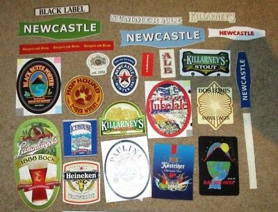 25 BEER STICKER PACK LOT decal craft beer brewing brewery tap handle H