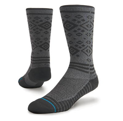 Stance Men's Boyes Grey Athletic Crew Socks - Grey - Large (9-12)