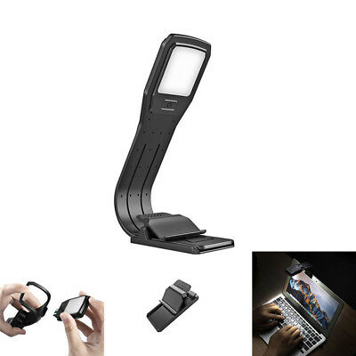 LED Book Reading Lamp Flexible Torch Bright Night Portable Travel Light