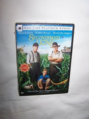 Secondhand Lions (DVD 2004, Platinum Series) Michael Caine, Robert Duvall; New