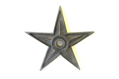 Five  Large Cast Iron Texas   Americana  Star  Old  Building Washer  Brown Color