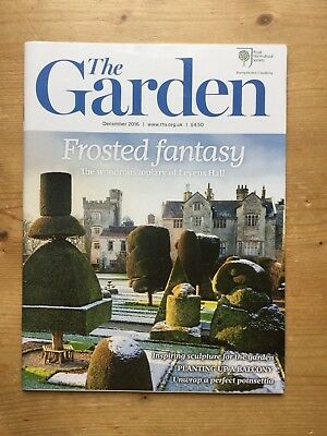 Rhs - The Garden Magazine - December 2016 - Mint - Free P&p *reduced*