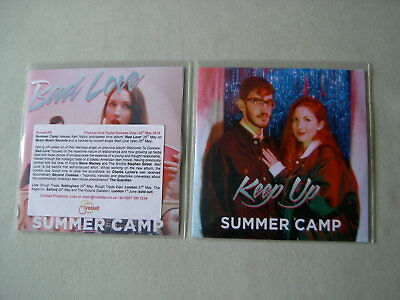 SUMMER CAMP job lot of 2 promo CDs Bad Love Keep Up