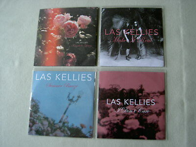 LAS KELLIES job lot of 4 promo CDs Friends & Lovers I Don't Care Summer Breeze