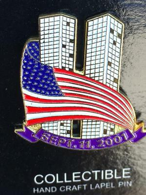 World Trade Center  PRE 9/11 Enamel Lapel Pins WTC Twin Towers Jewelry~...