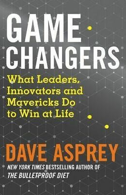 NEW Game Changers By Dave Asprey Paperback Free Shipping