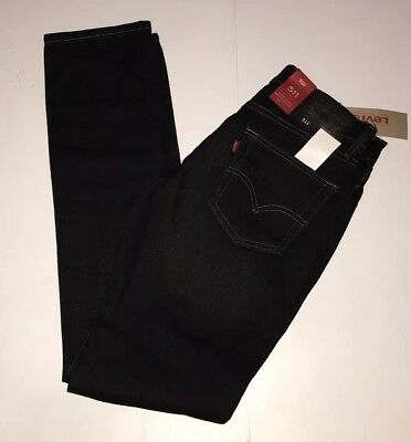 LEVIS 511 Slim Fit Jeans Stretch Slim from Hip to Ankle Clean Dark Blue 4172 NWT