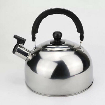 3 Colors Whistling Kettle Teapot Home Portable Fast Boil