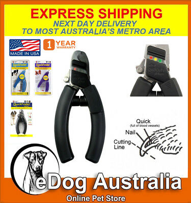 Nail Clipper Dog Miracle Care QuickFinder Deluxe Safety Dog Cat Pet Nail Clipper