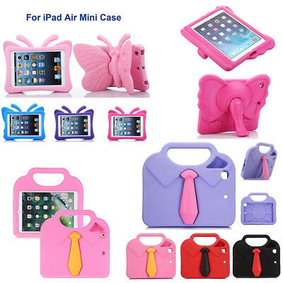 Shockproof Kids Safe Protective EVA Handle Stand Hard Case Cover For iPad 2 3 4