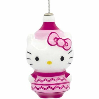 Hallmark Hello Kitty Kawaii Decoupage Christmas Ornament