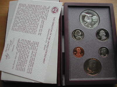 USA Olympic Silver Proof Set 1983
