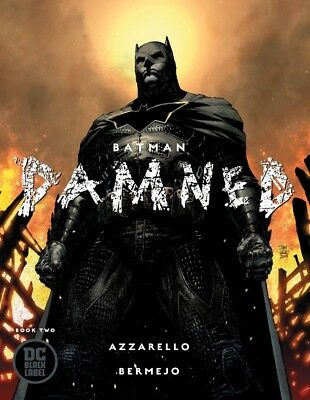 Batman Damned #2 Jim Lee Variant Dc Comics Black Label Azzarello Bermejo 121218