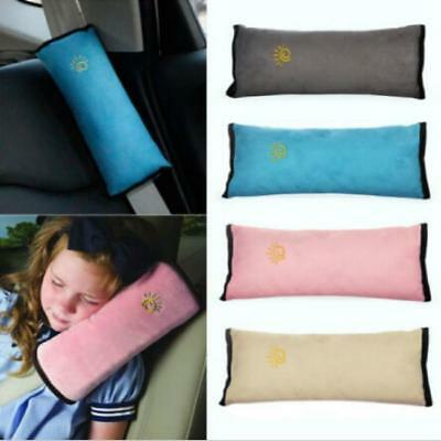Child Car Safety Seat Belt Pillow Shoulder Strap Pad Cushions Head Support LA