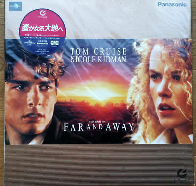 rare Hi-Vision Muse Laserdisc - Far And Away with sticker