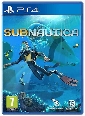 Subnautica Sony Playstation PS4 Game 7+ Years
