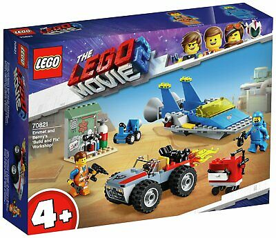 LEGO Movie 2 Emmet & Benny's Workshop Toy Vehicles - 70821