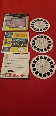 Washinton Vintage View-Master Reel Pack A270