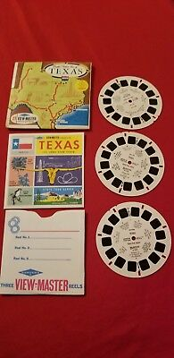 Texas Vintage View-Master Reel Pack A410