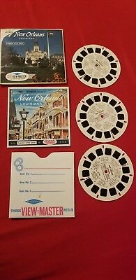 New Orleans Vintage View-Master Reel Pack A946
