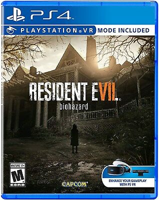 Resident Evil 7 Biohazard (Sony PlayStation 4, 2017) PS4 NEW *FACTORY SEALED*