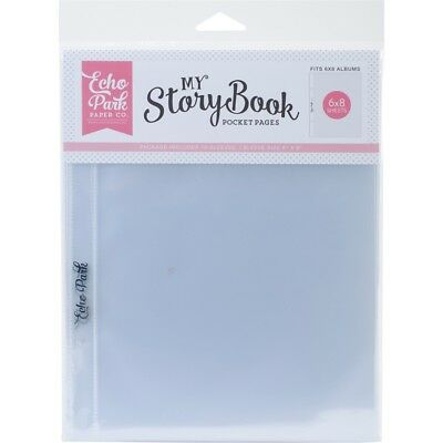 "My Story Book Album Pocket Pages 6""x8"" 10/pkg-single Opening"