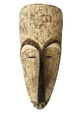 "Superb African Fang Mask  Gabon 20.5"" H"